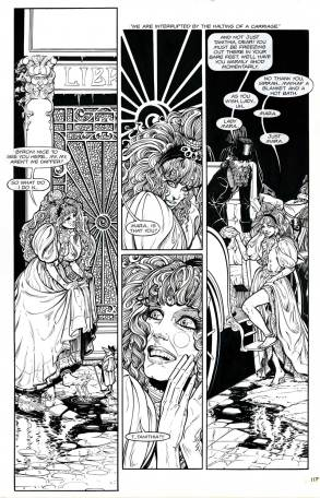 (Barefoot) Justine Mara Andersen - comic Mara2