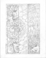 (Barefoot) Justine Mara Andersen - comic, uninished