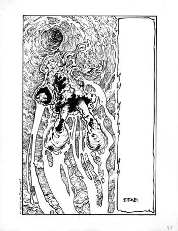 (Barefoot) Justine Mara Andersen - comic, unpublished