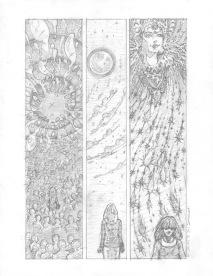(Barefoot) Justine Mara Andersen - unfinished, Hinduism comic 2