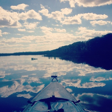 From Justine & Shaenah's kayaking adventure