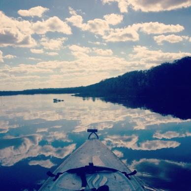 From Justine & Shaenah's kayaking adventure