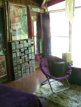 (pic by Justine Mara Andersen) Another of my room, but this time you can see inside better.