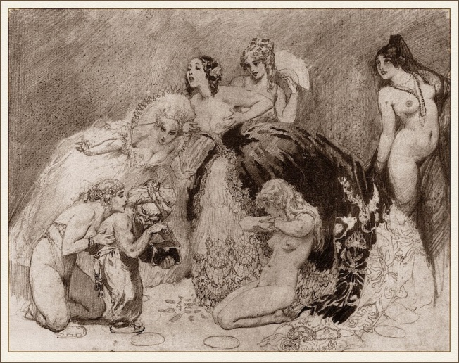Art by Norman Lindsay