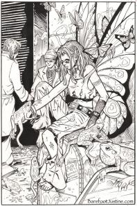 (Barefoot) Justine Mara Andersen, Barefoot Street Fairy