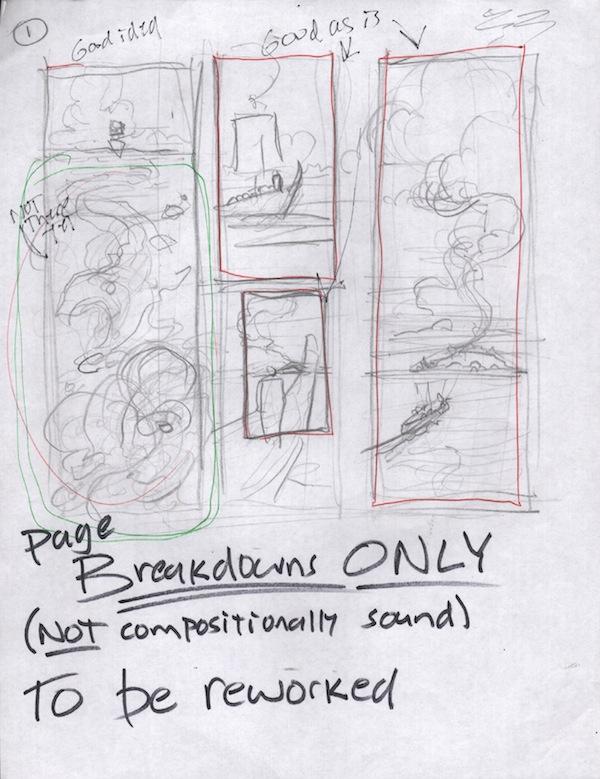 Odysseus Page 1, (Barefoot) Justine Mara Andersen