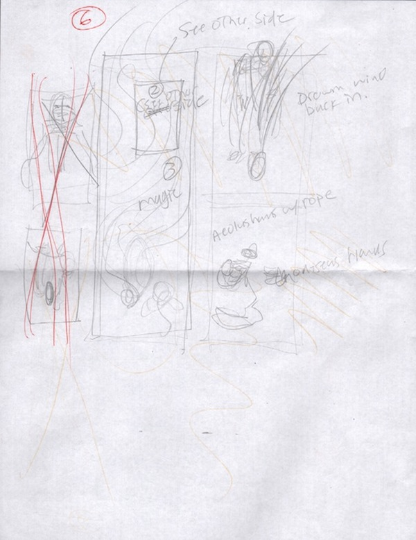 (Barefoot) Justine Mara Andersen - Odysseus 6: sketch 2