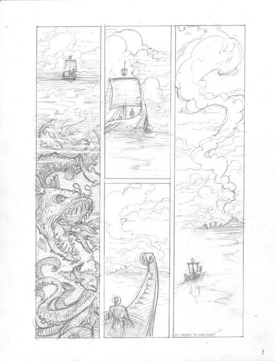 (Barefoot) Justine Mara Andersen - Odysseus 1: comic