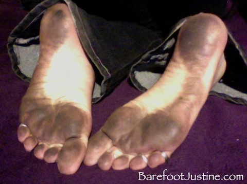 Mature dirty soles würde