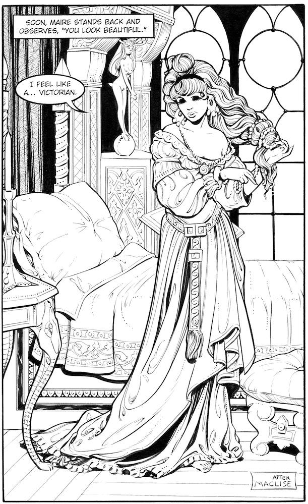 Mara Medievalist (by Justine)