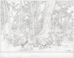 What The Lions Saw - turkey pencils by Justine Mara Andersen