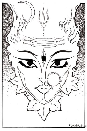 Goddess Of The Azaleas