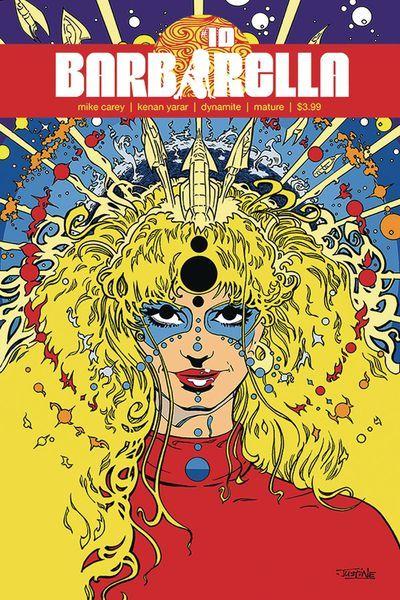 Barbarella Cover Justine Mara Andersen