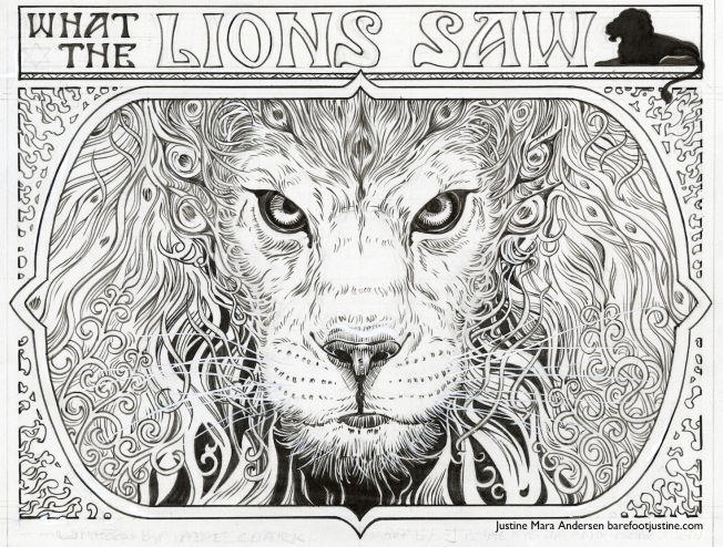 """What The Lions Saw"" cover by Justine"