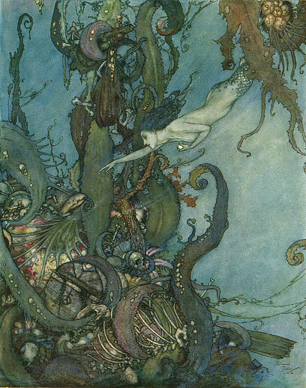 Edmund Dulac Little Mermaid